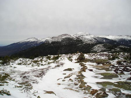 View from Mt. Pierce in the winter
