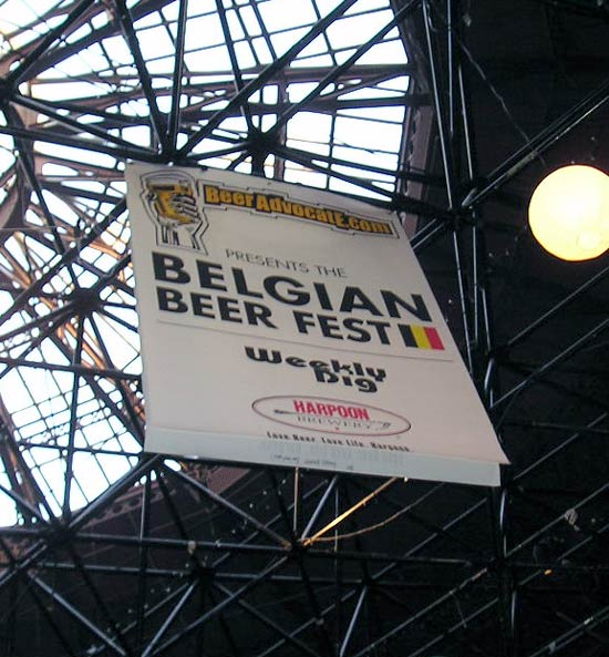 Beerfest sign