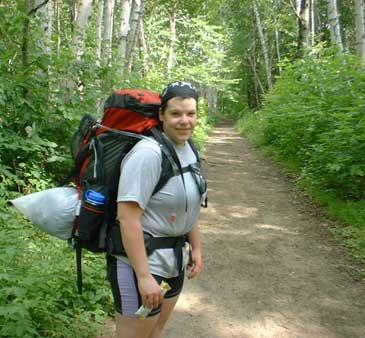 Danielle on Lincoln Woods Trail
