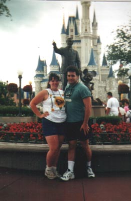 Danielle and Tim at Disney World